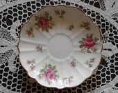 Vintage C & E Victoria Bone China Saucer Made In England (Saucer Only)