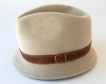 Narrow Brim Fedora Hat- Women- Fall Fashion- Fall Accessories- Katarinahats- Ready To Ship- Gift For Her- Small Brim Fedora- Handmade Hat
