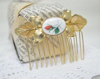 Bridal Headpiece/ Hair comb/ Bridal hair comb/ Wedding Hair Comb/ Bridal Hair Comb