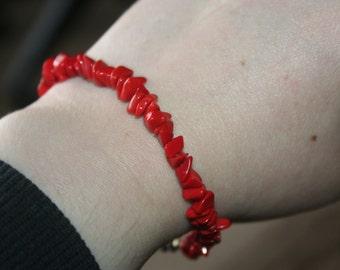SELL OUT ...Vintage Coral  Bracelet  Stunning