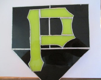 Stained Glass Pirates Plaque