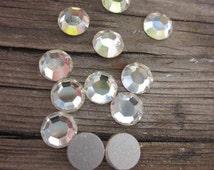 Swarovski crystals flat backs