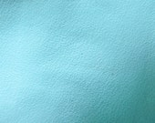 Faux Leather Fabric in Lambskin Pattern - Baby Blue -  Large Fat Quarter - Vegan Leather