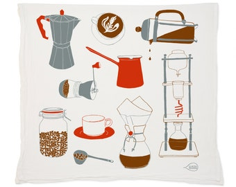 Coffee Tea Towel