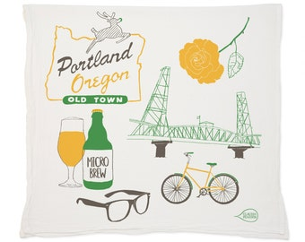 Portland Tea Towel
