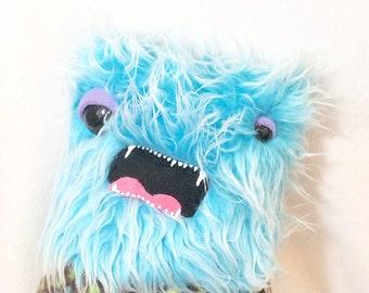 Stuffed Monster - Weird Plush Furry Handmade Toy