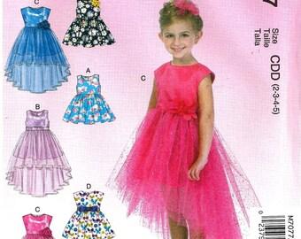 GIRLS DRESS PATTERN / Make Girls Fancy Dress / Flower Girll / Toddler 2 to Child 8