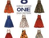 Girls Dress Sewing Pattern - McCalls 8237 - Girls Sundress Sewing Pattern - Uncut, FF