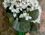 1930's White Floral Bouquet