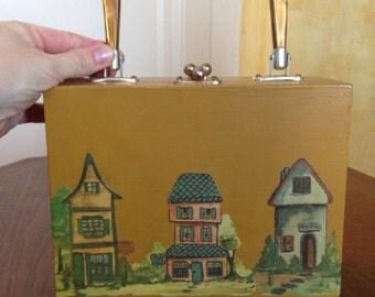 Vintage Decoupage Purse