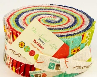 FALL SALE - The Sweet Life - Jelly Roll - 43050JR - by Pat Sloan for Moda Fabric
