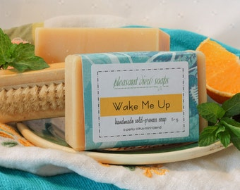 Wake Me Up Goat's Milk Soap Cold-Process Bar