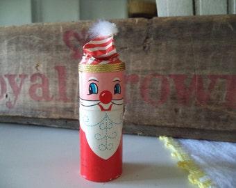 Vintage Santa Matches