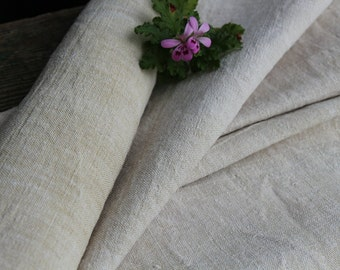 c 73 antique hemp linen roll classy 4.372 y elegnat upholstery handloomed fabric chunky 26.77inch wide