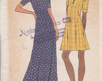 Butterick 3633 Misses' Dress Size 14 Vintage UNCUT Pattern Rare and OOP