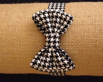 Classic Boys Bowtie - made to match dresses - Size 6m - 5 years..Bowtie with adjustable velcro closure