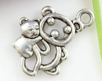 Koala Bear Double Sided Mini Charms Pack Of 10 Charms