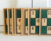 Vintage Large Lotto Cards - Lot of 20
