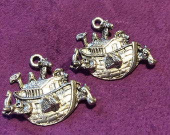 Noah's Ark Pewter Charms (117)