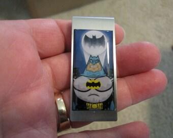 Batman Original Art Money Clip