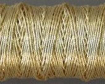 Benton & Johnson Goldwork-Smooth Passing-Gilt metal embroidery thread-choose size