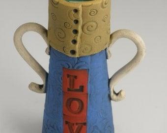 FLOWER VASE, Vase, Pottery Vase, Ceramic Vase, Porcelain Vase, Bud Vase
