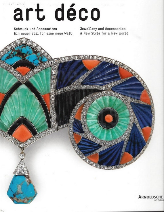 Book art deco jewelry and accessories cornelie by for Deco accessoires