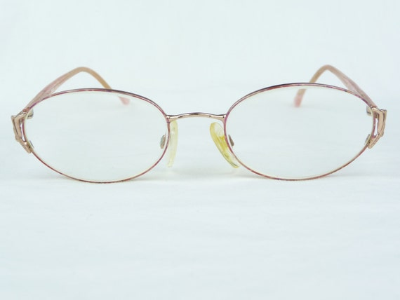 Items similar to vintage eyeglasses, Eye Mail, gold metal ...