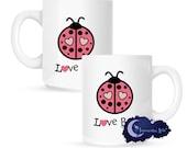 Love Bug, Valentine 15 oz Coffee Mug