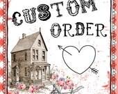 Custom Burlap Runner