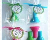 20 Mad Scientist Soap Party Shower Favors (Tags Included)