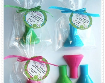 Mad Scientist Science Party Favors Handmade Soap (20 complete favors with tags)