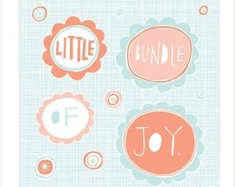 Little Bundle Of Joy - Fine Art Print