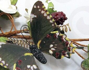 Butterfly Embellishments Earthtone Flutterbies