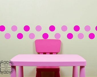 Dots Wall Decals - Set of 20