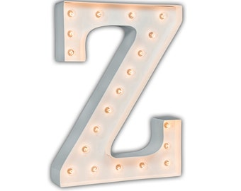 "SALE - Circus Light Z - WHITE - 24"" Vintage Marquee Lights-The Original!"