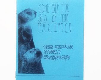 Animals of the Pacific Ocean Zine