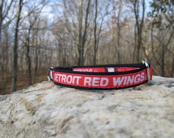 Detroit Red Wings Cat or Small Dog Collar