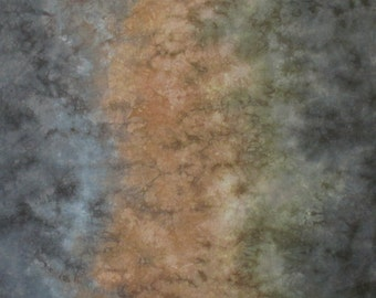 Hand Dyed Fabric Rocky Road Gradient