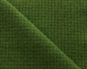 Noël vert pied de poule teint à la main tissu de laine feutrée parfaite pour Rug Hooking, Applique et métiers de quilting Acres