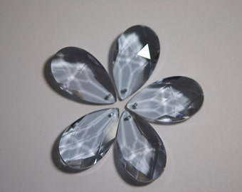 5 Light Lilac -  38mm Chandelier Crystals Prisms - (S-21)