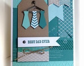 Father's Day Card- Stampin' Up Best Dad Ever