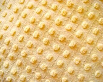 Morgan Jones Pops Vintage Cotton Chenille Bedspread Fabric 18 x 24 Inches