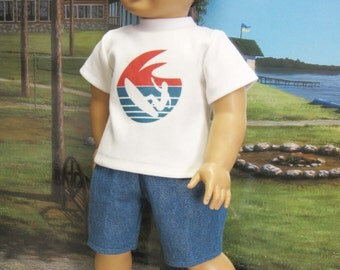 "Surfs Up! Outfit for 18"" Boy Doll"