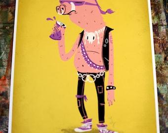 Bebop TMNT print
