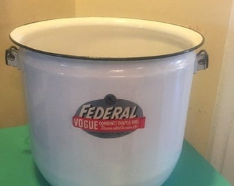 Federal Vogue combination Diaper Pail
