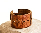 Leather Jewelry, Leather Cuff Bracelet, Leather Wristband, Women's Leather Cuff, Leather Shop