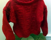 Child's Red Sweater