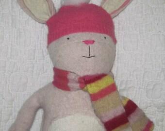 Q-tip Handmade Bunny