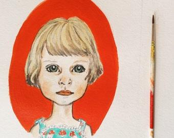 Original Illustrated Portrait